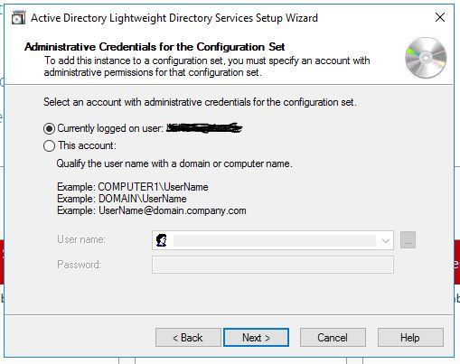 how to migrate an ad lds instance